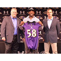 Elvis Dumervil Explains Choosing Ravens