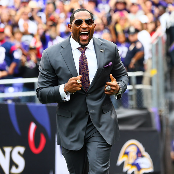 Ray Lewis & Terrell Suggs Pre-Game Intros
