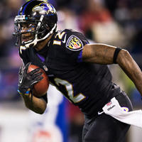 Ravens Reach Four-Year Agreement With Jacoby Jones