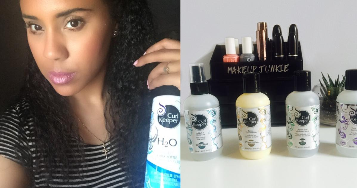 How I Keep My Curls Under Control With Curl Keeper Products