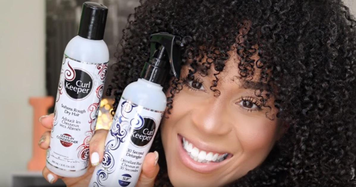 Wash N Go On Natural Curls With Curl Keeper